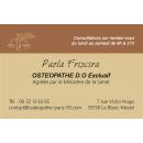 Recrutement Ostéopathe: annonce médicale gratuite de Remplacement (libéral) -  France, Cabinet de Mme FRISCIRA