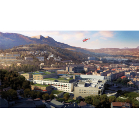 détail de l'image de l'établissement Centre Hospitalier de Sisteron
